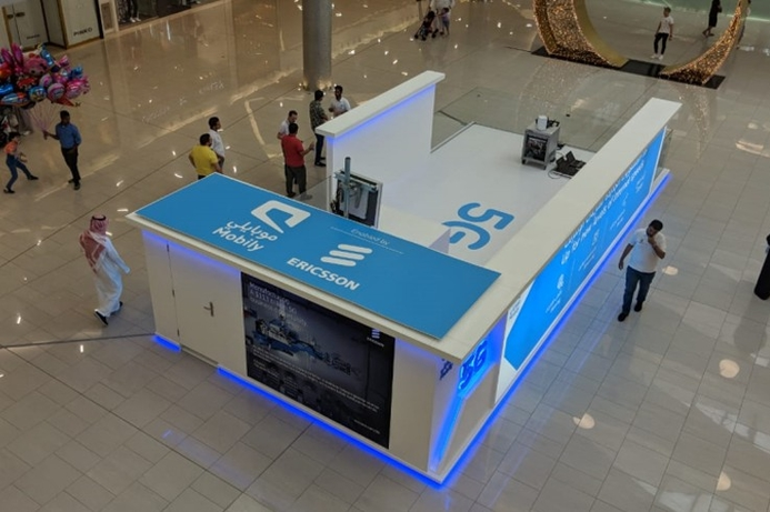 Ericsson and Mobily demo 5G in Jeddah mall