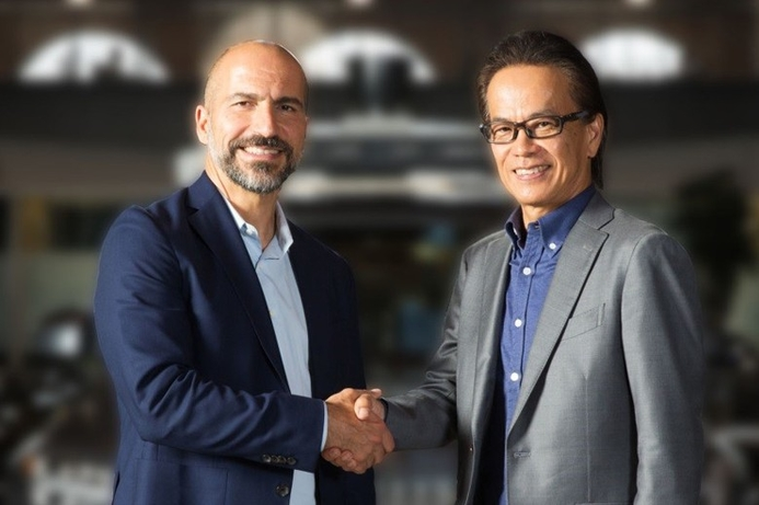 Toyota and Uber partner on self-driving vehicle fleet