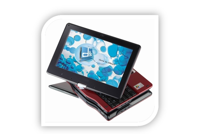 DTK announces Swift i-Touch Netbook