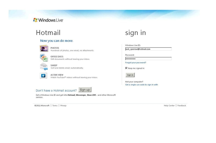 Hotmail has Instant e-mail, now 10x faster