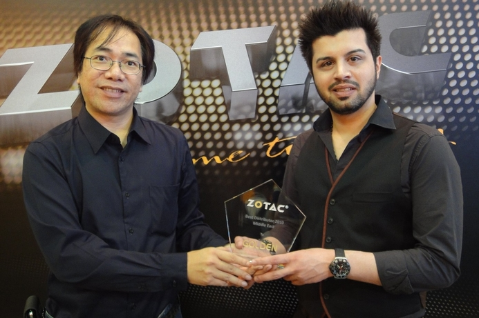 Golden Systems scoops ZOTAC Award