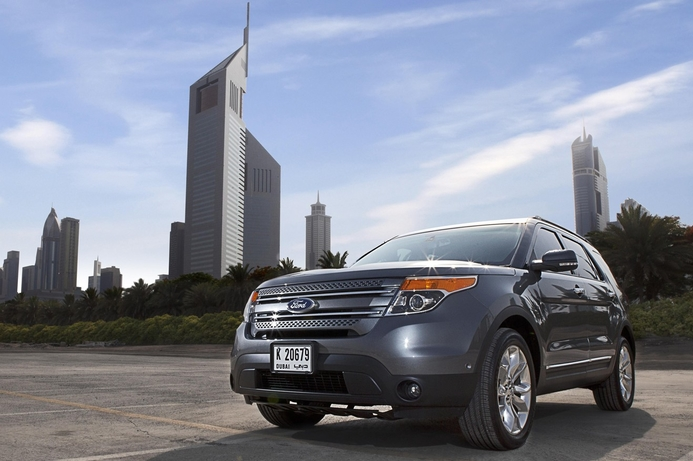 Ford Explorer to debut at GITEX