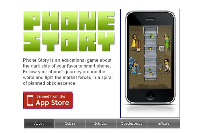 Anti-Apple app pulled from Apple App Store