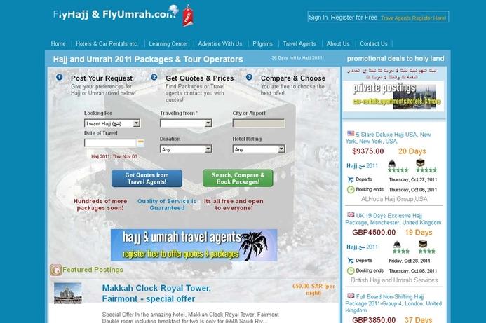 FlyHajj.com hopes to help pilgrims
