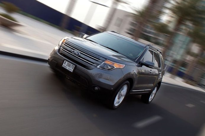 Tech-heavy Ford Explorer rolled out