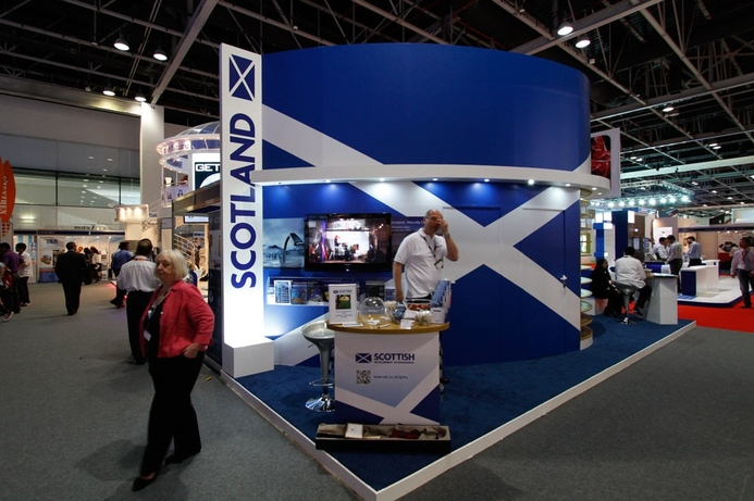 Scotland makes its debut