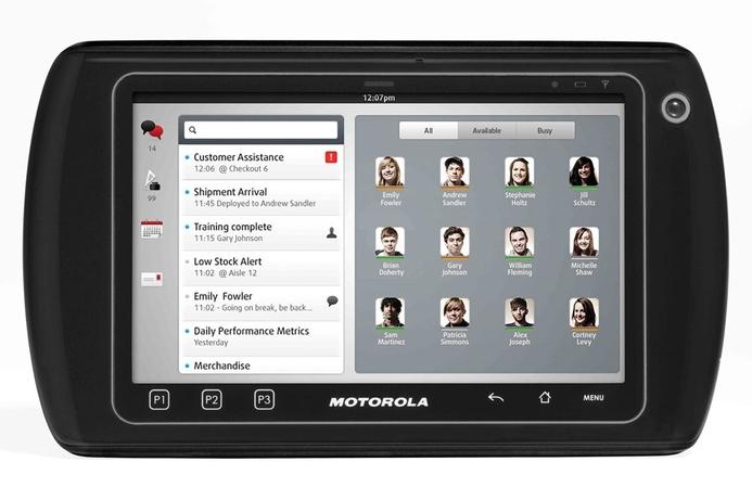 Motorola unveils enterprise only tablet