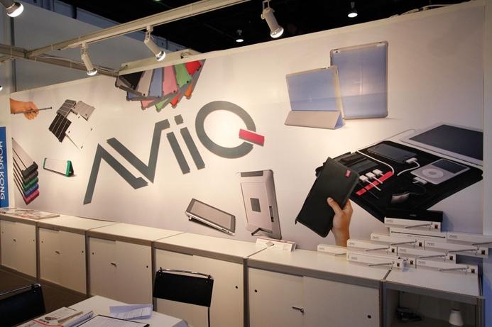 Pine shows off AviiQ gear