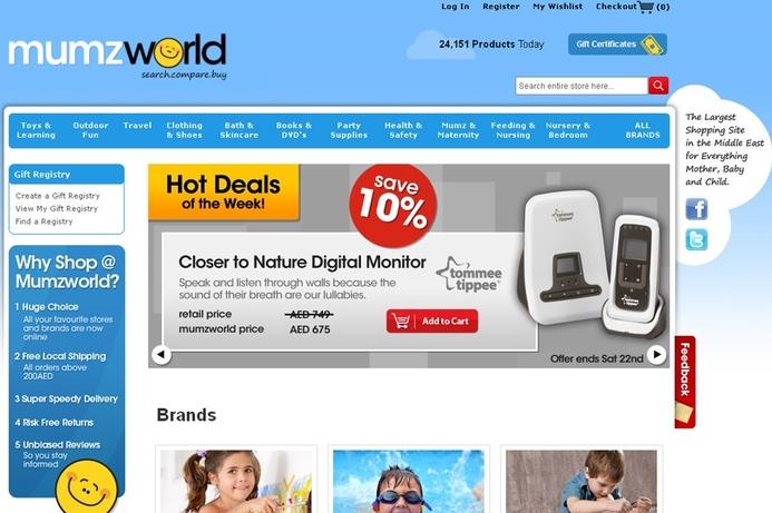 Mumzworld portal helps mothers in the region
