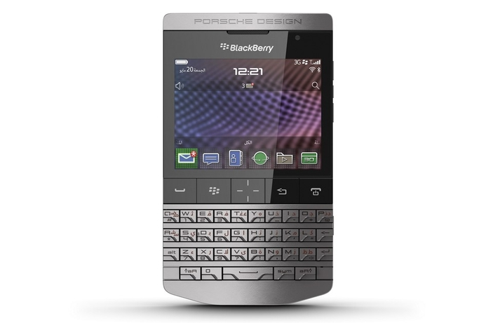 New Porsche Design BlackBerry in UAE
