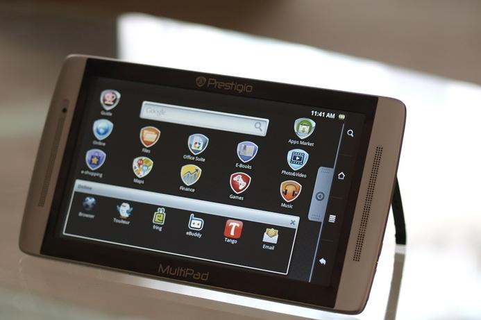 Asbis touts its Prestigio MultiPad tablet with 3G