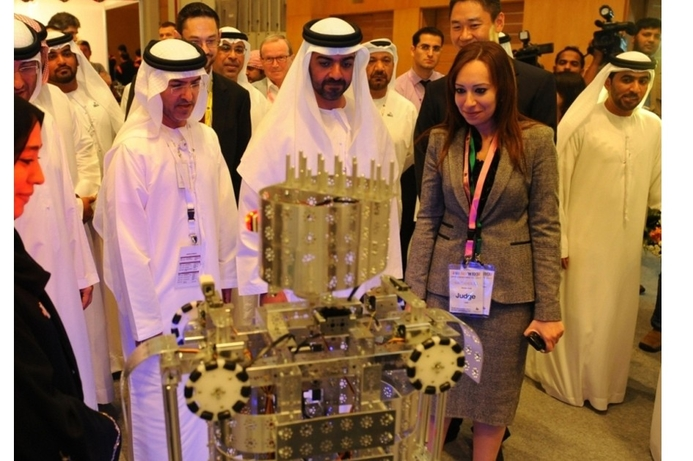 Robotics challenge hits Abu Dhabi