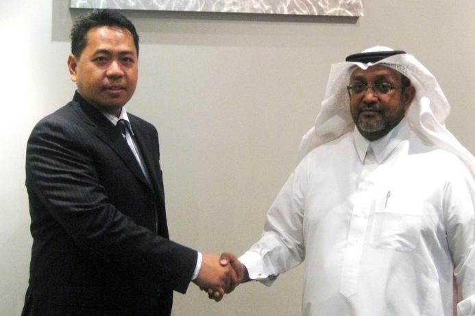 Interactive Intelligence sign Alnafitha for Saudi