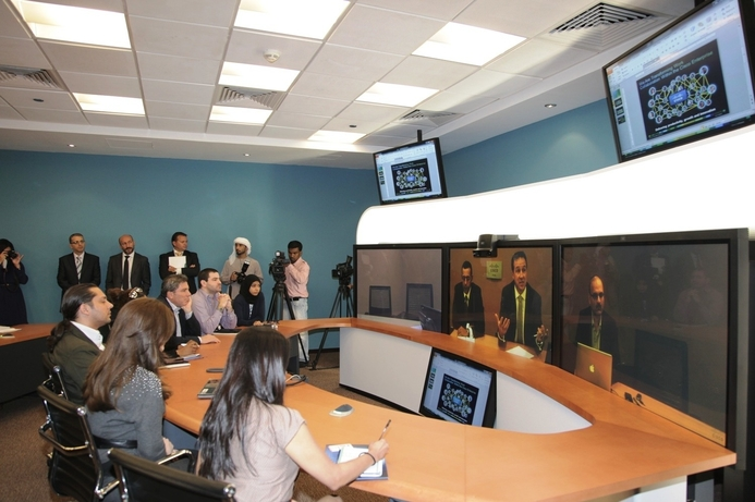 AUD launches telepresence classroom