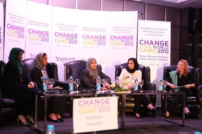 Yahoo! hosts women's summit in Cairo