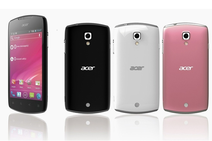 Acer unveils new Android 4.0 smartphones