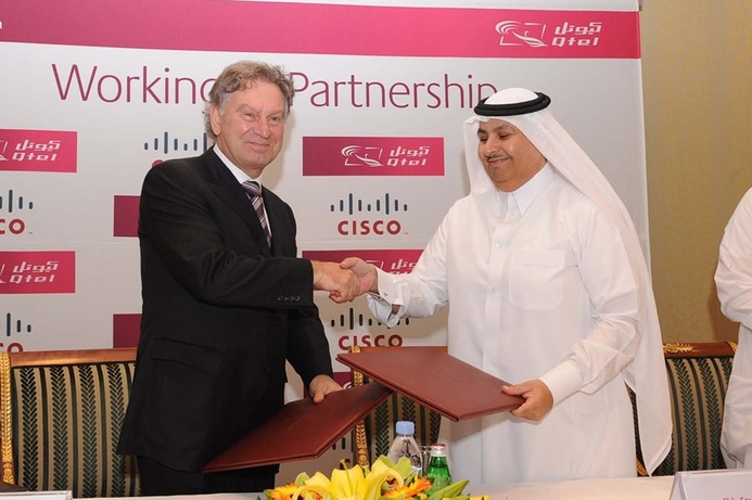 Cisco and Qtel to partner on new services