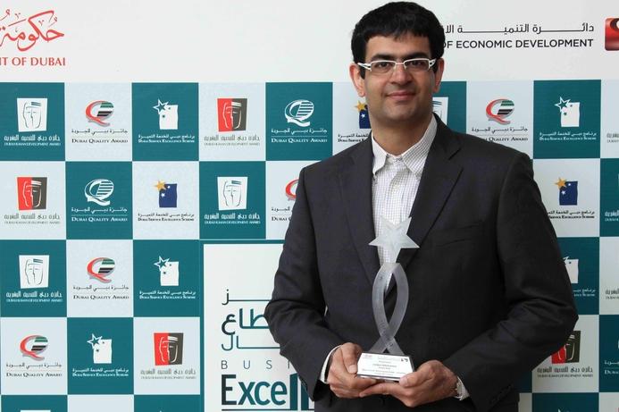 Jacky's Electronics receives DSES award