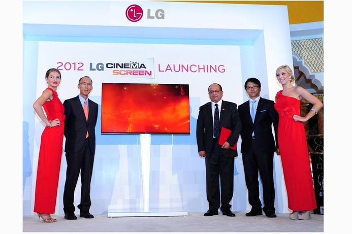 LG reveals world's thinnest 3D bezel TV