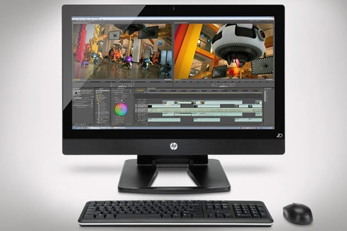 HP launches Z1 all-in-one workstation
