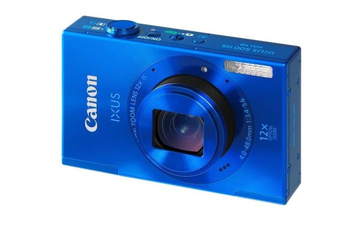 Canon launches IXUS 500 HS and IXUS 125 HS