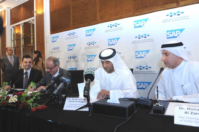 SAP to open training institute at Silicon Oasis