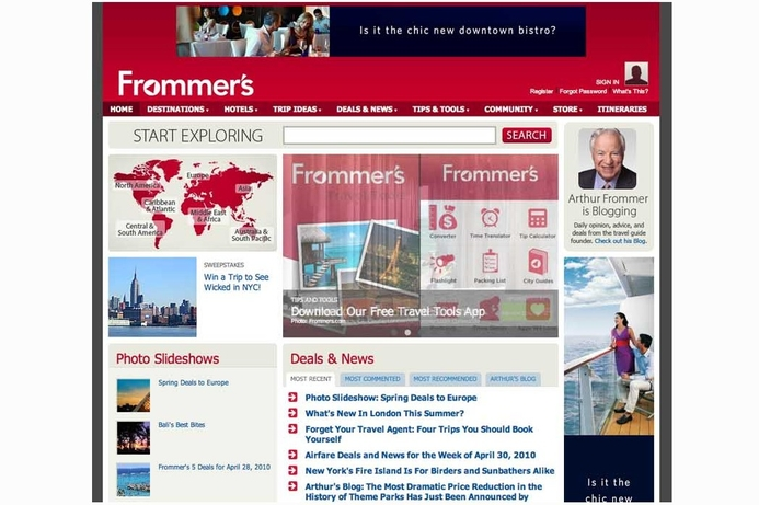 Google snaps up Frommer's