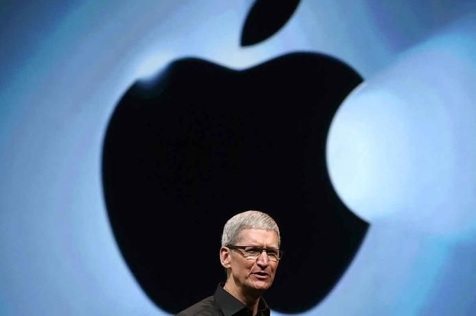 Apple CEO reassures investors despite falling revenue