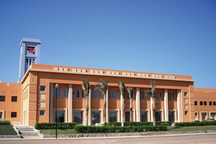 Technical University of Berlin in El Gouna Cat 7 connected