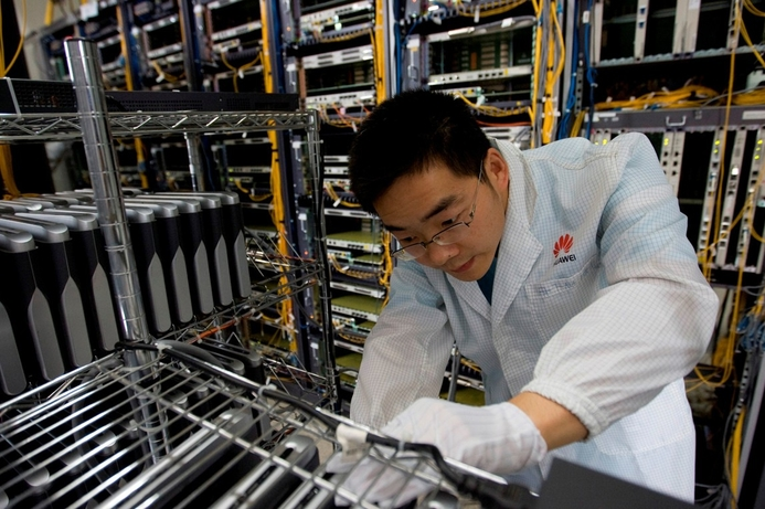 Huawei gears up for new network era