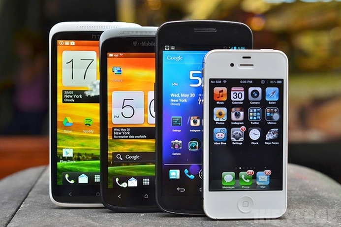 Smartphone shipments up 30% in Q1