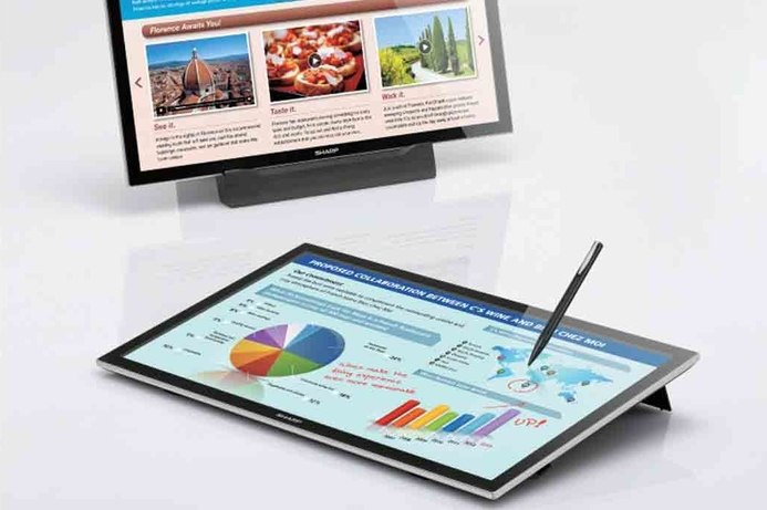 Sharp's 20 Inch touch-screen arrives in ME