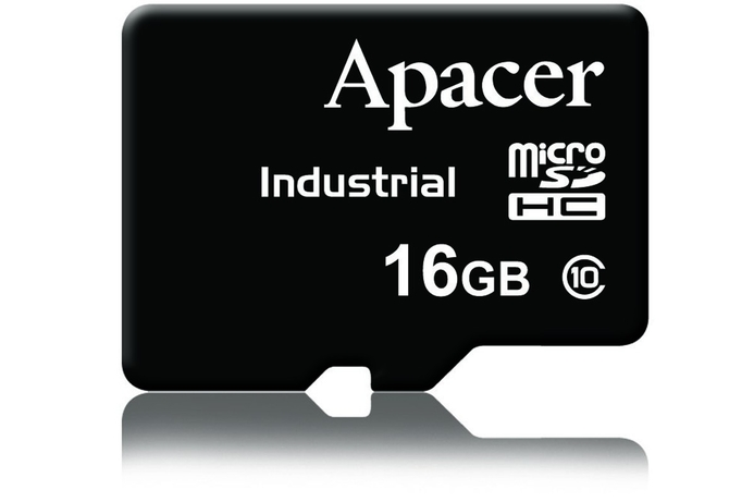 Apacer launches its first MicroSDHC card