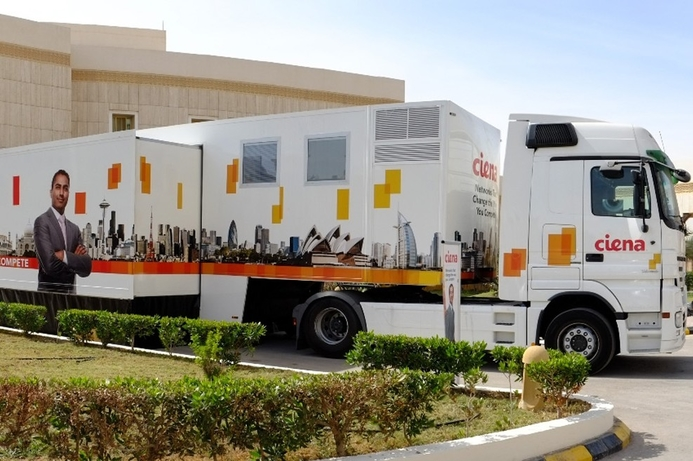 Ciena's lab-on-wheels returns to Middle East