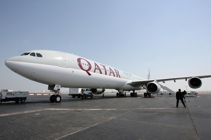 Qatar Airways passengers found out about jet escort via Twitter