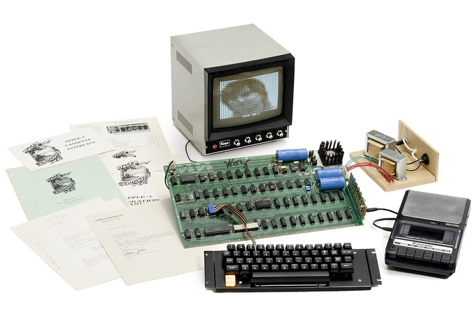 Pioneering tech up for auction