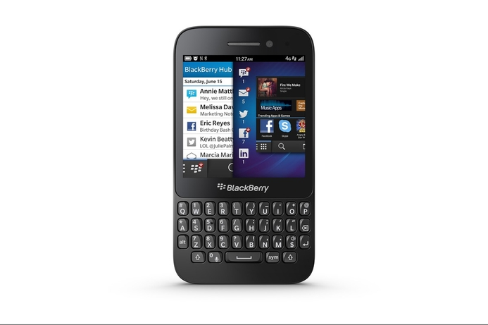 BlackBerry Q5 to have global debut in UAE
