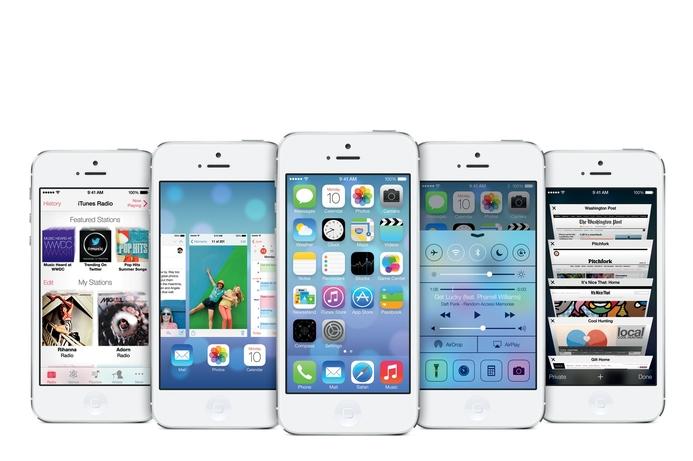 Apple unveils iOS7