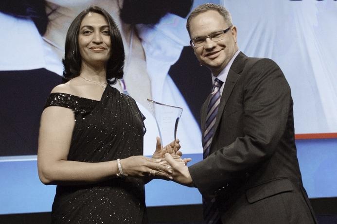 Visionaire CEO wins AV InfoComm award