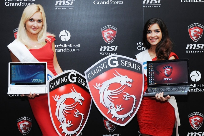 MSI unleashes high-end gaming notebooks in UAE