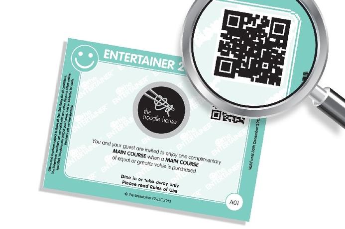 Entertainer enhances market intelligence with QR codes