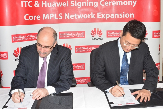 ITC selects Huawei for network expansion