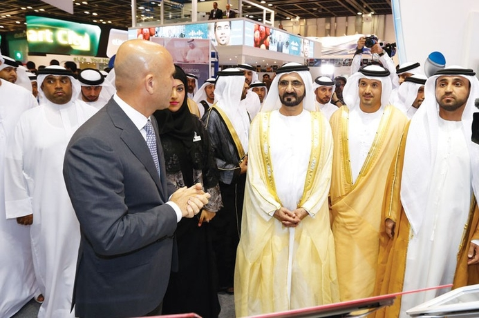 HH Sheikh Mohammed officially opens GITEX