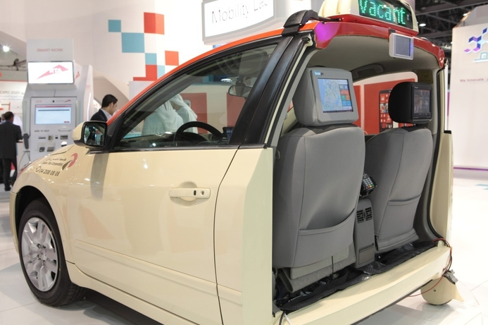 Toyota exhibits Smart Taxi technology