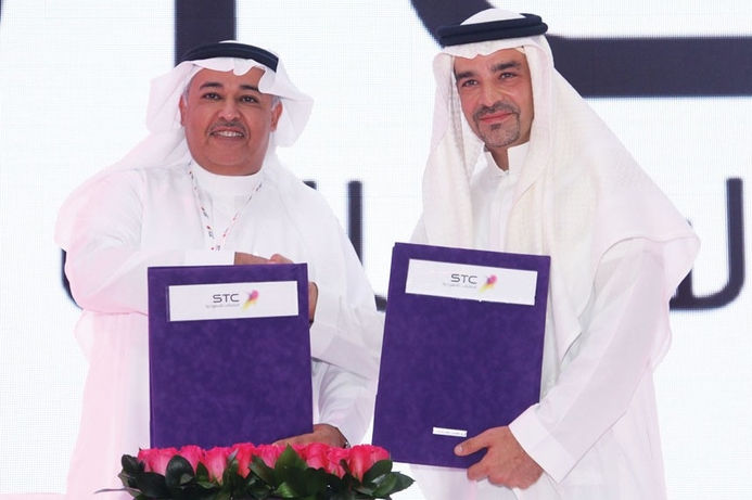 STC and ARAMCO sign deal