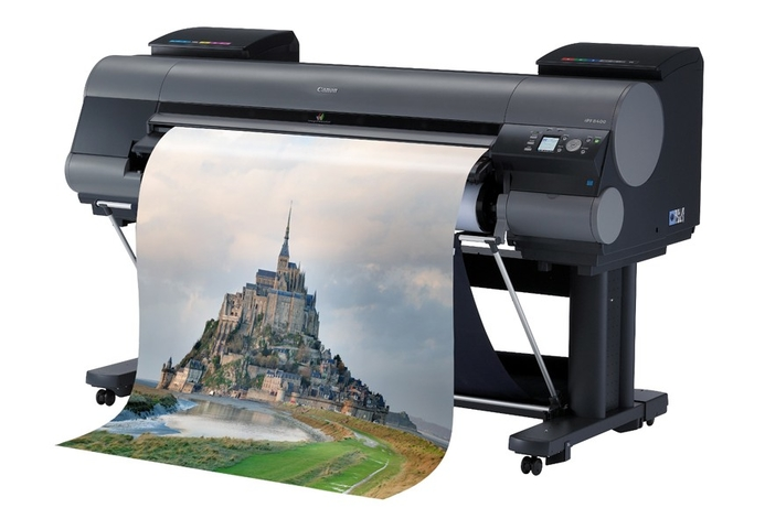 Canon launches two large format imagePROGRAF models