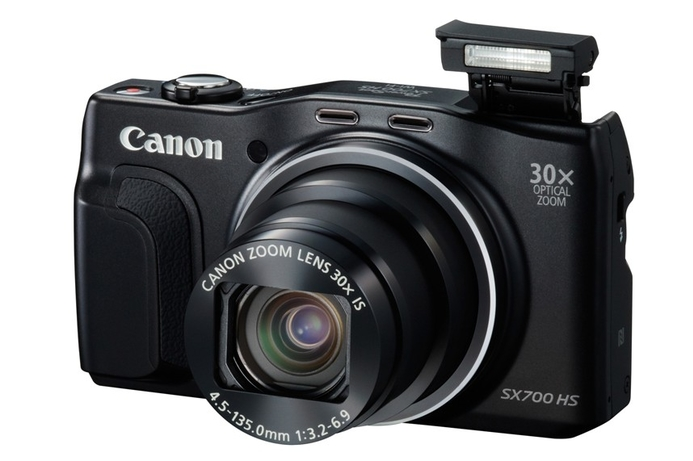 Canon releases 'slimmest ever' 30x optical zoom camera