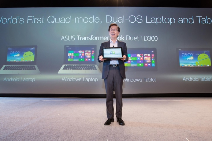 Pressure for Asus to cancel dual-boot tablet