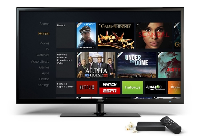 Amazon launches Amazon Fire TV to rival Apple TV