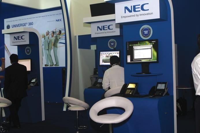 NEC helps firms increase enterprise productivity